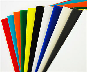 Cut To Size Coloured Acrylic Perspex Plastic Sheet