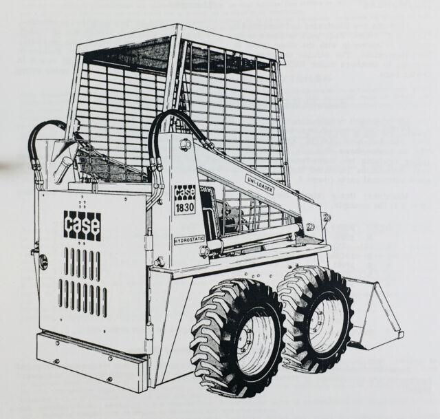 CASE 1830 UNI LOADER SKID STEER TECHNICAL SERVICE MANUAL