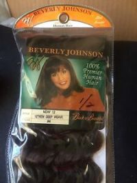 "BEVERLY JOHNSON 100% Premier Human Hair 12"" New DEEP Weave ..."