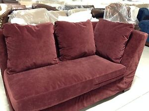 pottery barn chaise sofa sectional 2 piece covers pacific deep chair left arm image is loading
