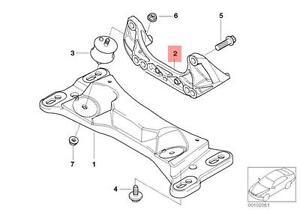Genuine BMW E46 E85 E86 Cabrio Adapter Gearbox Mounting
