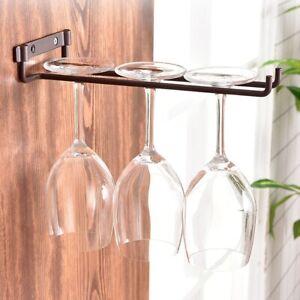 glass cup stemware shelf wine rack