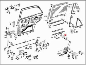 Genuine MERCEDES Window Regulator Kit W108 W109 W111 W112