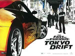 details zu the fast and the furious poster tokyo drift movie poster 12 x 16 inches