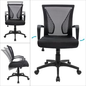 lumbar support office chair covers from china to buy mid back swivel desk ergonomic image is loading
