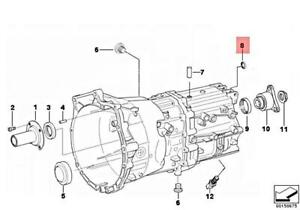 For BMW 530i 550i M5 M6 X3 Z4 Seal Manual Trans Selector