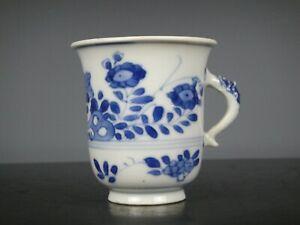 Rare Beautiful Chinese Porcelain B/W Kangxi Cup-Flowers-18