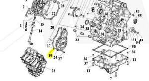 MV AGUSTA GENERATOR COVER GASKET GENUINE BRUTALE F3 F4