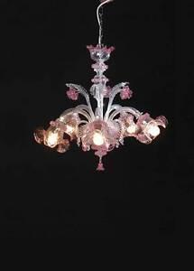 Questo superbo lampadario murano in stile rezzonico a 18 luci è realizzato completamente a mano in vetro soffiato secondo le tradizionali tecniche di lavorazione del vetro veneziano. Lampadario Vetro Soffiato Di Murano Original Chandelier San Marco 5 L Cri Rosa Ebay