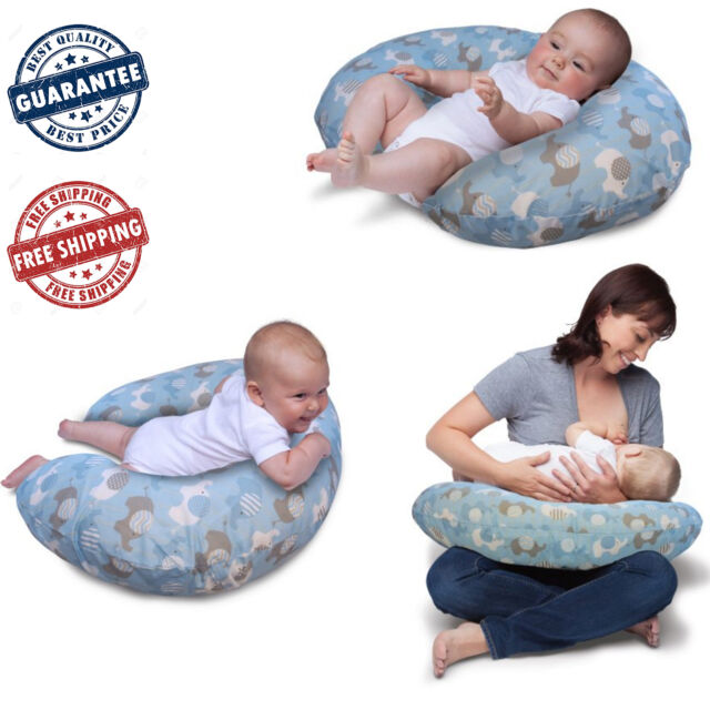Boppy Pillow Slipcover Cover Classic Nursing Slip Baby