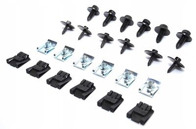 Underride Guard Clips Engine Protection Mercedes C-Class
