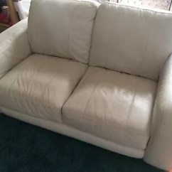 How To Deep Clean White Leather Sofa Outdoor Wicker Furniture 2 And 3 Seater Sofas Gumtree Australia