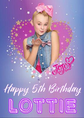 Jojo Siwa Happy Birthday : happy, birthday, Personalised, Birthday