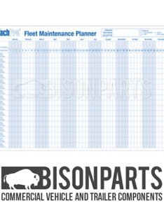 Image is loading  vehicle fleet maintenance amp record wall chart also  ebay rh