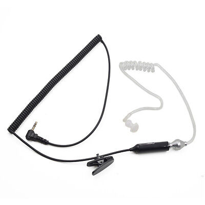 Police Earpiece Headset Mic for Motorola MD200R MD200TPR