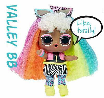 LOL Surprise Doll VALLEY BB HairGoals Wave 2 Rainbow Hair, Sealed Bags 2019 NEW   eBay
