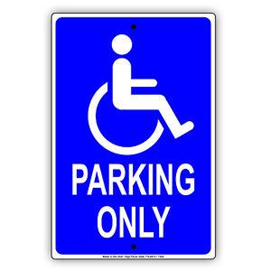 details about handicap disabled