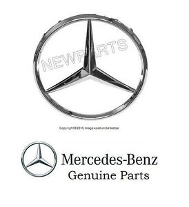 For Mercedes W163 ML-Class Big Center Star Emblem In