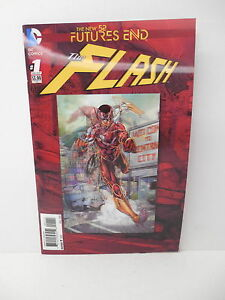 Flash DC Comic Book New 52 Futures End Lenticular Cover Brett Booth Art