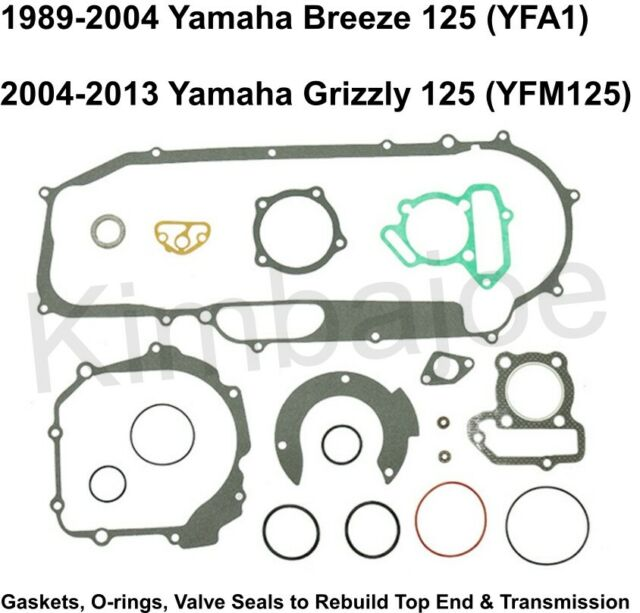 Yamaha Breeze 125 YFA1 Grizzly YFM125 Top End