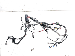 13 Tesla Model S P85 Front Left Under Hood Wiring Wire