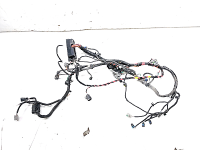 13 Tesla Model S P85 Front Left Under Hood Wiring Wire