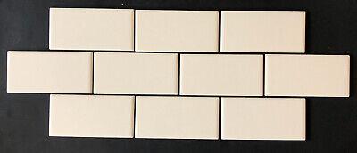 american olean lot 10 piece biscuit beige glossy ceramic subway wall tile 3 x6 730575669103 ebay