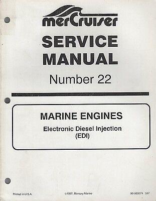 1998 MERCRUISER MARINE ENGINES #22 ELECTRONIC DIESEL