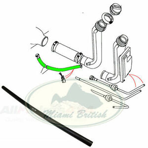 LAND ROVER FUEL TANK BREATHER HOSE RANGE CLASSIC DISCOVERY