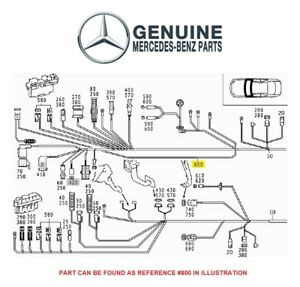 For Mercedes-Benz C215 W220 Main Cable Wiring Harness
