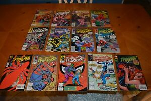 VINTAGE SPIDER-MAN COMIC BOOK'S GREAT FOR READING BY YOU & YOUR CHILDREN LOT G
