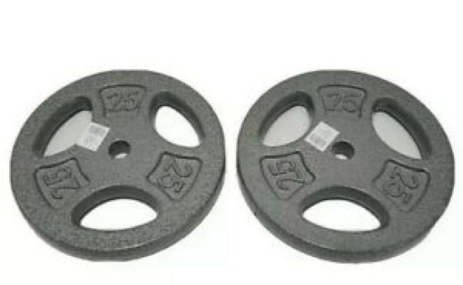 2.5 lbs for sale online CAP Barbell Standard 1-Inch Grip Weight Plate