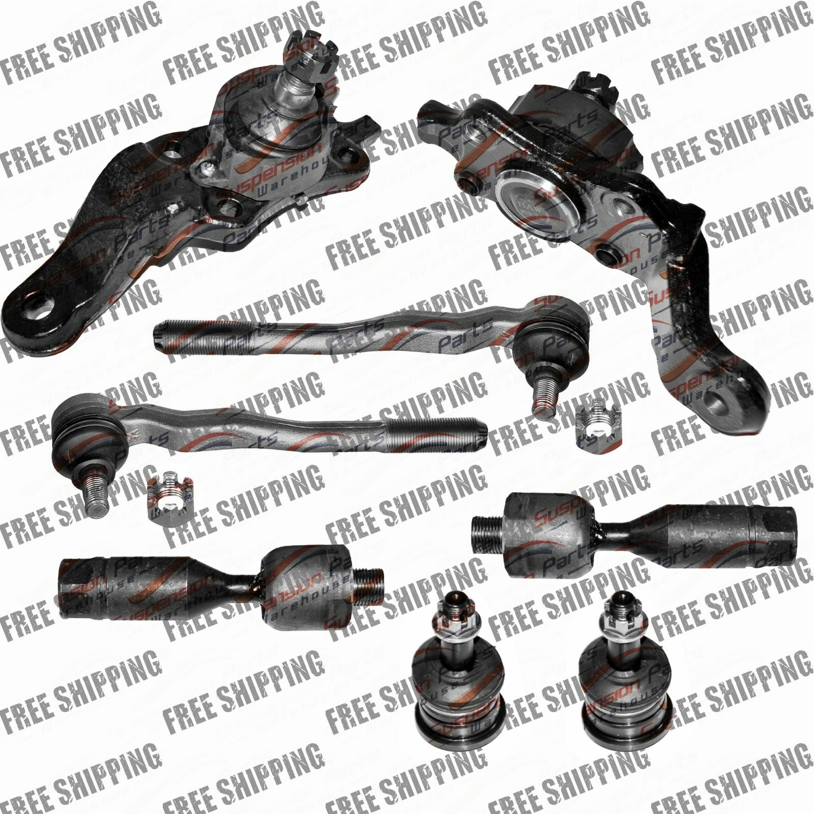 Front Suspension Pick Up Toyota Tacoma Ball Joints Tie Rod