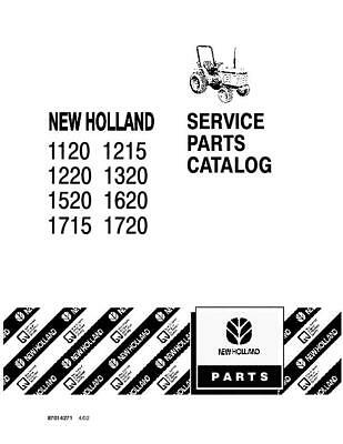 NEW HOLLAND 1120 1215 1220 1320 1520 1620 1715 1720 PARTS