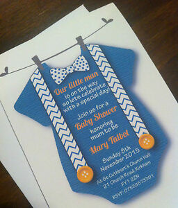 Cute Baby Grow Shower Invitations