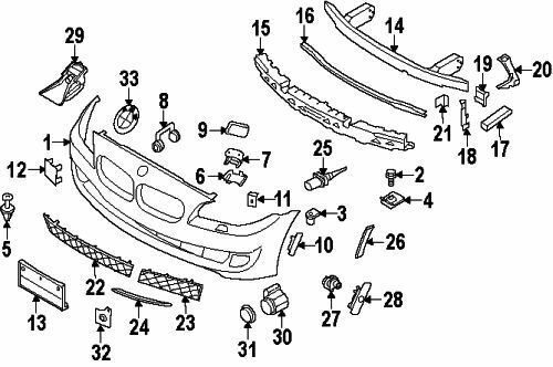 BMW 51117263325 Genuine OEM Factory Original Support for