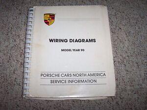 porsche 911 964 wiring diagram smoke detector 1990 carrera turbo 3 3l electrical diagrams image is loading amp