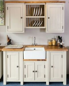 freestanding kitchen mixer reviews handmade belfast sink unit and plate rack image is loading