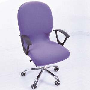 office chair covers ebay great northern company elastic cover side arm swivel rotating lift image is loading