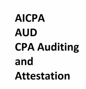 AICPA AUD CPA Auditing and Attestation Exam 879 Questions