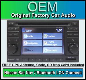 Nissan Juke Sat Nav car stereo, LCN Connect CD player