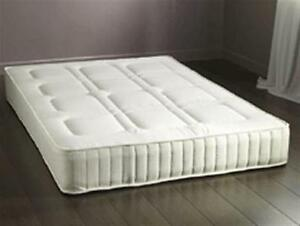 Image Is Loading Berlin 3ft Single Mattress Open Spring Quilted Cover