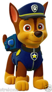 Paw Patrol Chase The Police Puppy Window Cling Sticker Decal Childrens Tv Show Ebay