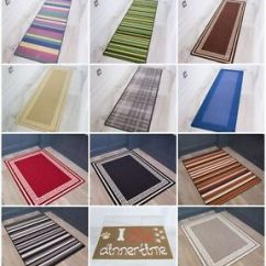 Small Kitchen Rugs Ranges Details About Large Mats Non Slip Latex Rubber Back Bathroom Hall Runner Image Is Loading