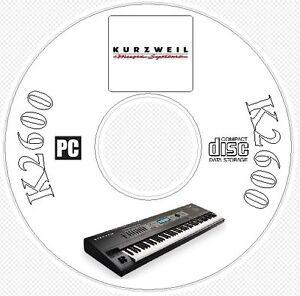 Kurzweil K2600 Sound / Patch Library, Manual, MIDI