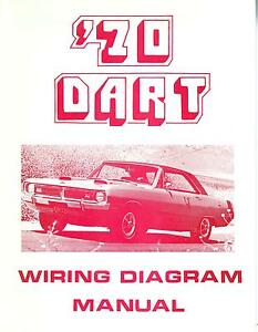 dodge dart wiring diagram of an atom with labels 1970 70 manual ebay image is loading