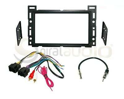 Radio Dash Kit Combo Standard & Oversized 2DIN + Wire