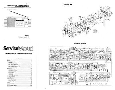 RADIO SHACK DX-440 SHORTWAVE RADIO PHOTOCOPY OPERATING
