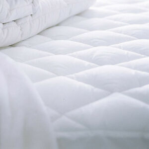 Image Is Loading Waterproof Mattress Protector Quilted Ed 30cm Deep Cover