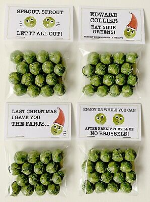 Funny Pictures Of Brussel Sprouts : funny, pictures, brussel, sprouts, Chocolate, Brussels, Sprouts, Novelty, Christmas, Secret, Santa, Brexit